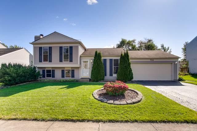 736 Cypress Lane, Carol Stream, IL 60188 (MLS #10544869) :: Angela Walker Homes Real Estate Group