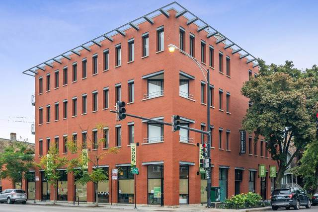 1955 N Leavitt Street 4B, Chicago, IL 60647 (MLS #10545060) :: The Perotti Group | Compass Real Estate