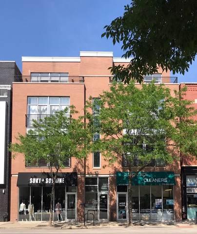 1872 N Damen Avenue Ph, Chicago, IL 60647 (MLS #10545289) :: The Perotti Group | Compass Real Estate