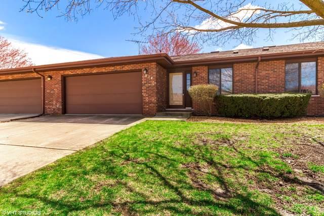 814 Shagbark Road #814, New Lenox, IL 60451 (MLS #10546285) :: Century 21 Affiliated