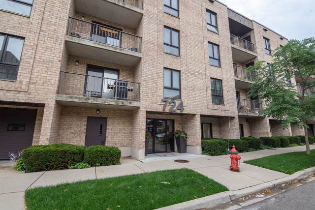724 12th Street #202, Wilmette, IL 60091 (MLS #10546676) :: The Spaniak Team