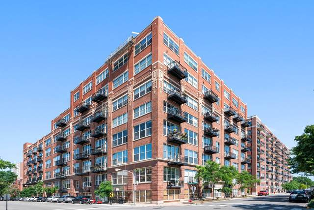 1500 W Monroe Street #423, Chicago, IL 60607 (MLS #10546969) :: The Perotti Group | Compass Real Estate