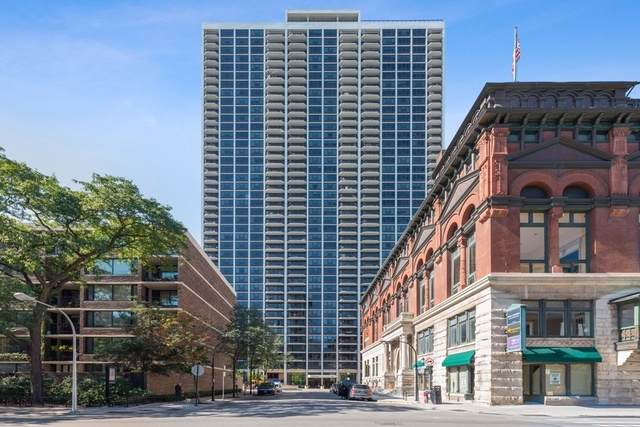 1560 N Sandburg Terrace #2801, Chicago, IL 60610 (MLS #10547229) :: The Perotti Group | Compass Real Estate