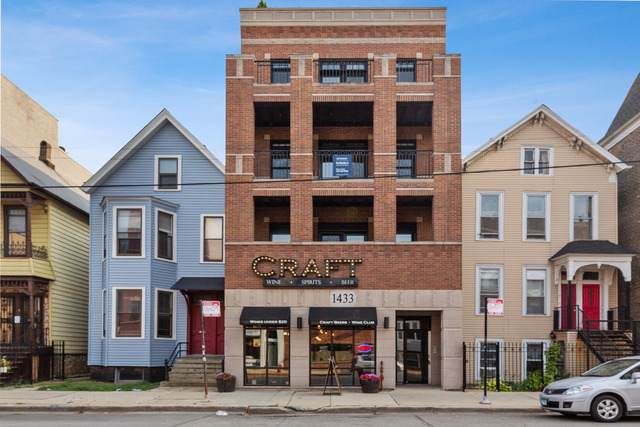 1433 W Belmont Avenue #3, Chicago, IL 60657 (MLS #10547402) :: The Perotti Group | Compass Real Estate