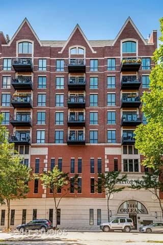 1444 N Orleans Street 6I, Chicago, IL 60610 (MLS #10547561) :: John Lyons Real Estate