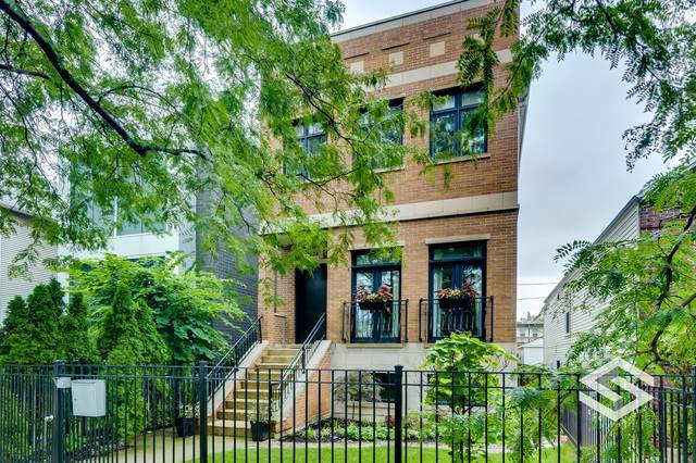 2624 W Homer Street, Chicago, IL 60647 (MLS #10547650) :: The Perotti Group   Compass Real Estate