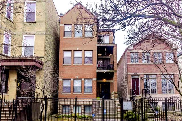 1652 N Fairfield Avenue #2, Chicago, IL 60647 (MLS #10547678) :: The Perotti Group   Compass Real Estate