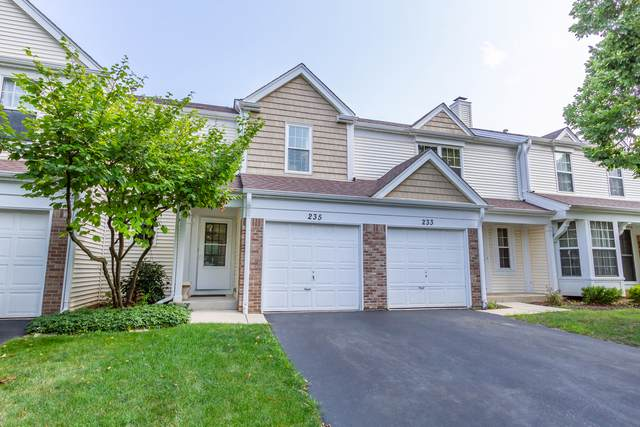 235 E Shag Bark Lane #235, Streamwood, IL 60107 (MLS #10548662) :: Suburban Life Realty