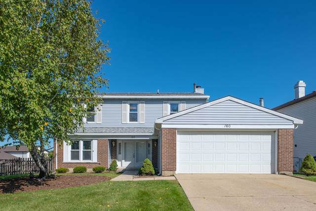 160 Hesterman Drive, Glendale Heights, IL 60139 (MLS #10549245) :: Littlefield Group