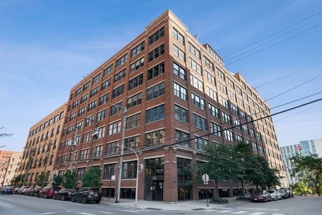 913 W Van Buren Street 7F, Chicago, IL 60607 (MLS #10549566) :: LIV Real Estate Partners
