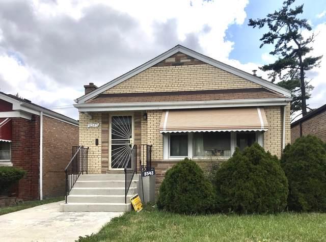 8543 S Damen Avenue, Chicago, IL 60620 (MLS #10550108) :: Ani Real Estate