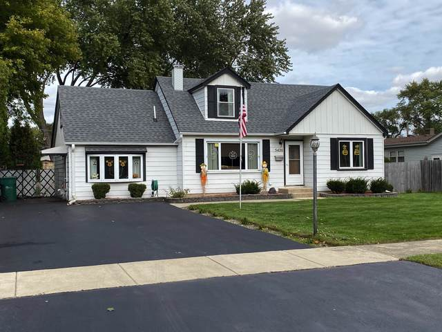 5420 W 84th Place, Burbank, IL 60459 (MLS #10552233) :: Property Consultants Realty