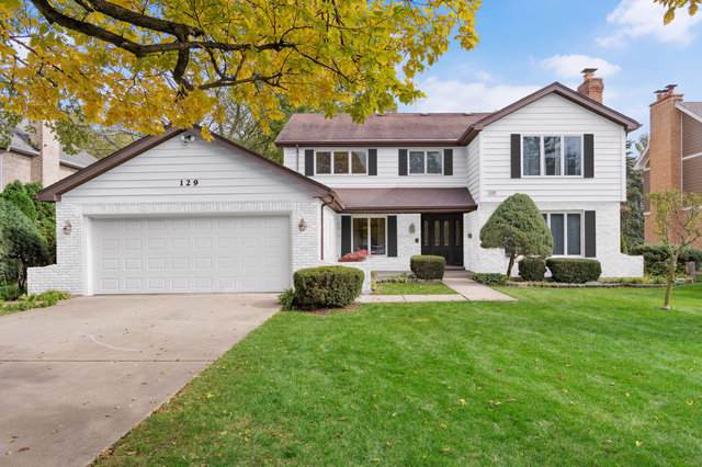 129 Springlake Avenue, Hinsdale, IL 60521 (MLS #10553266) :: The Wexler Group at Keller Williams Preferred Realty