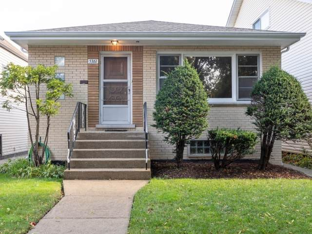 5361 N Lynch Avenue, Chicago, IL 60630 (MLS #10555307) :: Touchstone Group