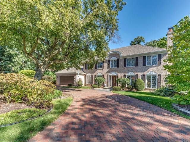 709 Forest Glen Lane, Oak Brook, IL 60523 (MLS #10564144) :: John Lyons Real Estate