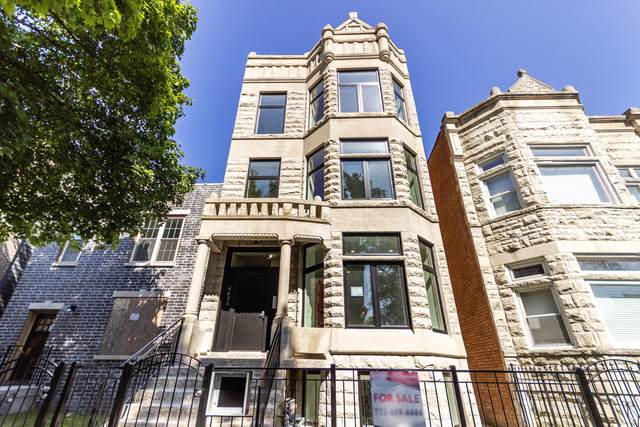 4633 S Evans Avenue #1, Chicago, IL 60653 (MLS #10565256) :: Property Consultants Realty