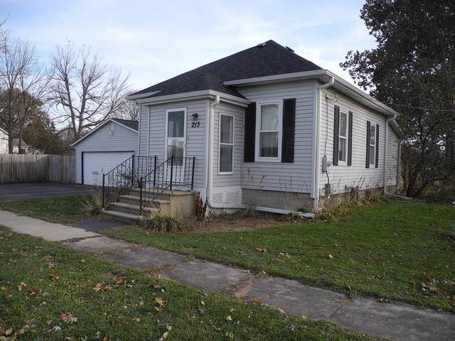 213 Hiscock Street, Earlville, IL 60518 (MLS #10570712) :: Berkshire Hathaway HomeServices Snyder Real Estate
