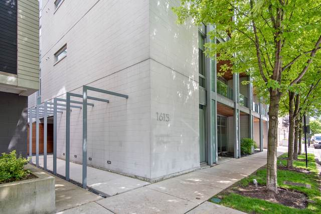 1615 N Wolcott Avenue #301, Chicago, IL 60622 (MLS #10571992) :: The Perotti Group | Compass Real Estate