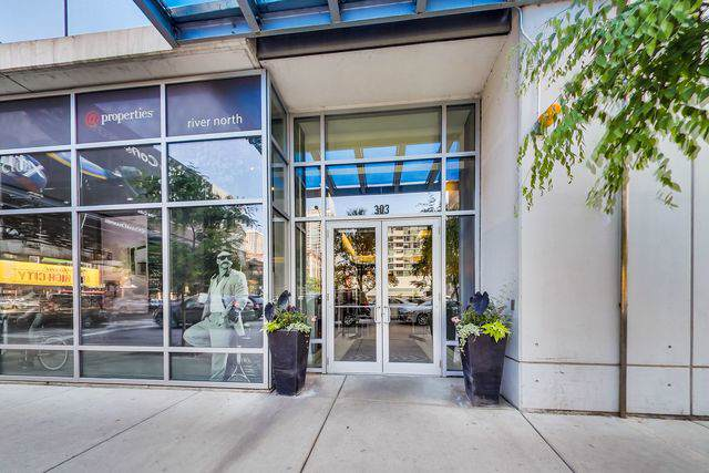 303 W Ohio Street #1608, Chicago, IL 60654 (MLS #10574249) :: The Perotti Group | Compass Real Estate