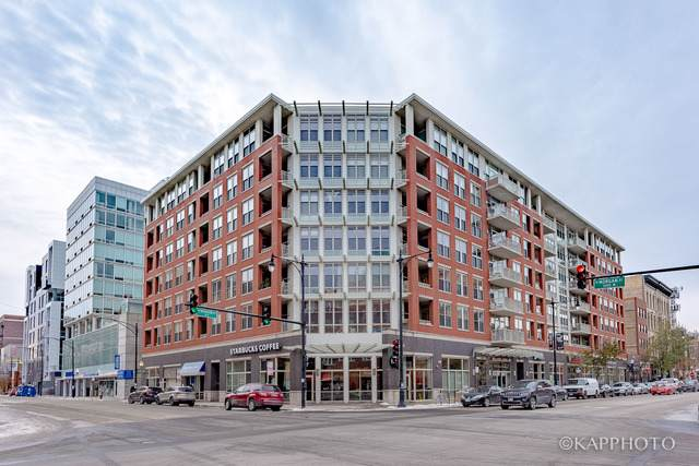 1001 W Madison Street #211, Chicago, IL 60607 (MLS #10574477) :: The Perotti Group | Compass Real Estate