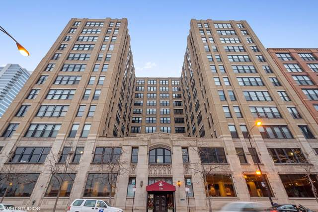 728 W Jackson Boulevard #617, Chicago, IL 60661 (MLS #10575081) :: The Perotti Group | Compass Real Estate