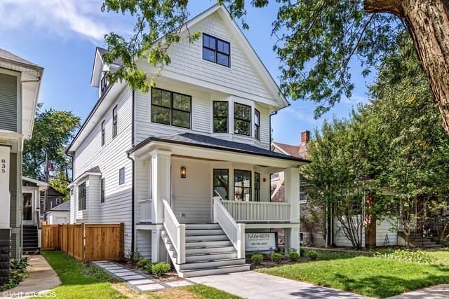 831 S Harvey Avenue, Oak Park, IL 60304 (MLS #10575132) :: Property Consultants Realty