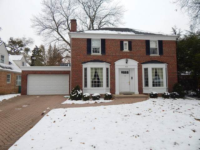 828 S Lincoln Avenue, Park Ridge, IL 60068 (MLS #10575242) :: Property Consultants Realty