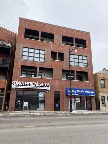 1625 W North Avenue #202, Chicago, IL 60622 (MLS #10575793) :: The Perotti Group   Compass Real Estate