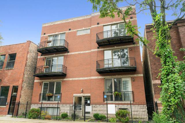 2027 W Race Avenue 2W, Chicago, IL 60612 (MLS #10575982) :: The Dena Furlow Team - Keller Williams Realty