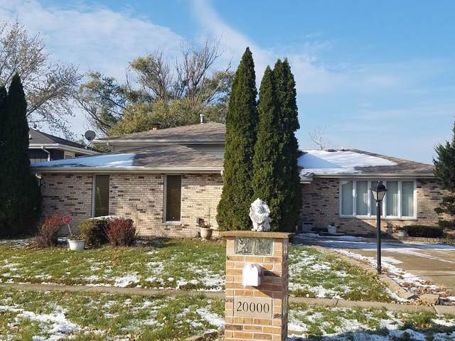 20000 Terrace Avenue, Lynwood, IL 60411 (MLS #10576229) :: The Wexler Group at Keller Williams Preferred Realty
