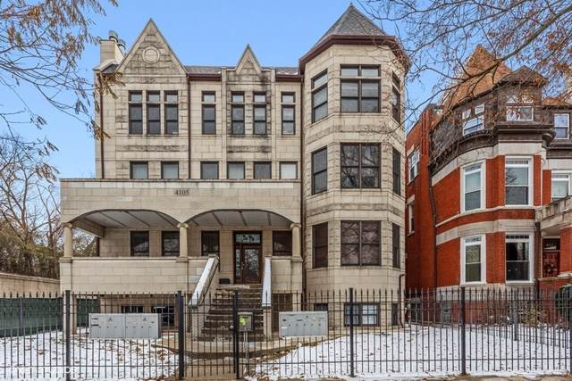 4105 S Drexel Boulevard S 1SR, Chicago, IL 60653 (MLS #10577940) :: Property Consultants Realty