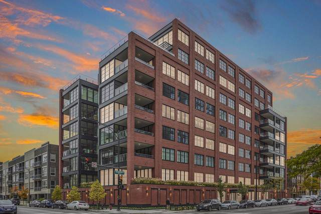 1109 W Washington Boulevard 5D, Chicago, IL 60607 (MLS #10577998) :: Property Consultants Realty