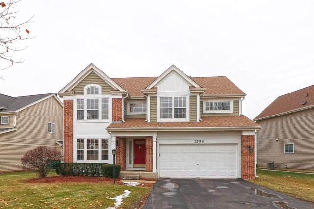 1590 Woodbury Circle, Gurnee, IL 60031 (MLS #10578093) :: The Dena Furlow Team - Keller Williams Realty