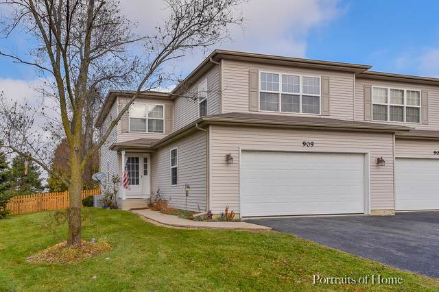 909 Fawn Ridge Court A, Yorkville, IL 60560 (MLS #10579308) :: Property Consultants Realty