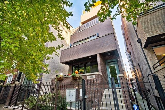 1023 N Marshfield Avenue #3, Chicago, IL 60622 (MLS #10579463) :: Property Consultants Realty