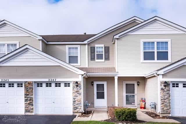 2247 Flagstone Lane #2247, Carpentersville, IL 60110 (MLS #10579583) :: Property Consultants Realty