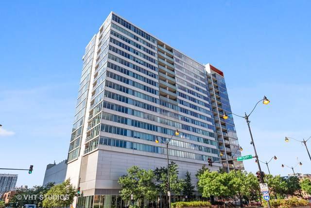 659 W Randolph Street #601, Chicago, IL 60661 (MLS #10579625) :: Janet Jurich