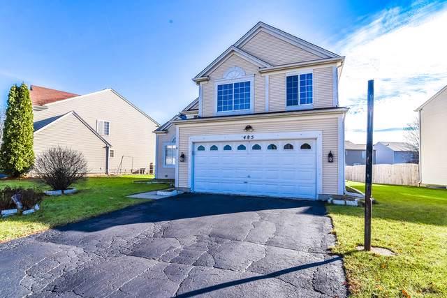 485 Snow Drift Circle, Bartlett, IL 60103 (MLS #10584382) :: LIV Real Estate Partners