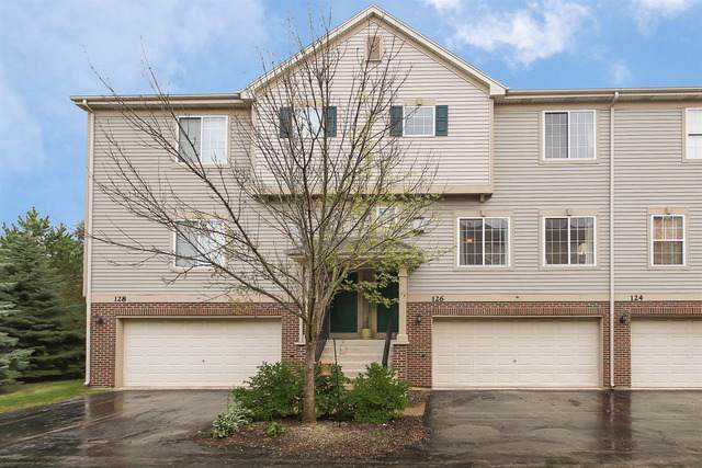 126 Monarch Drive #126, Streamwood, IL 60107 (MLS #10584604) :: Suburban Life Realty