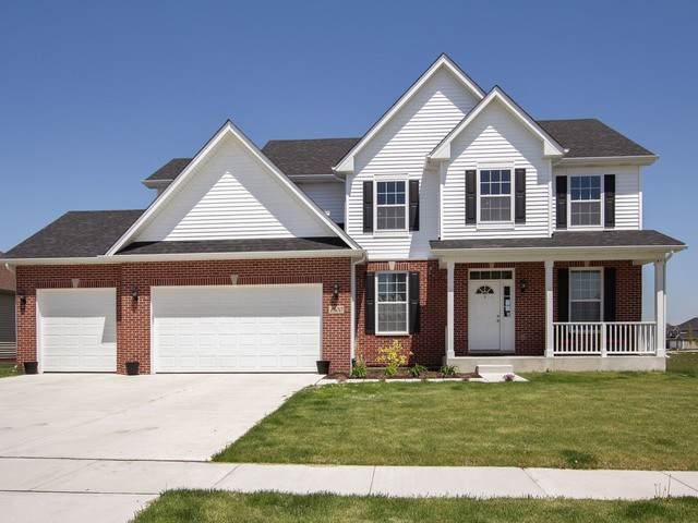 1500 S Saddlebrook Lane, Minooka, IL 60447 (MLS #10585100) :: Ani Real Estate
