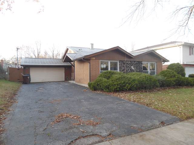 1137 191st Street, Homewood, IL 60430 (MLS #10585275) :: The Wexler Group at Keller Williams Preferred Realty