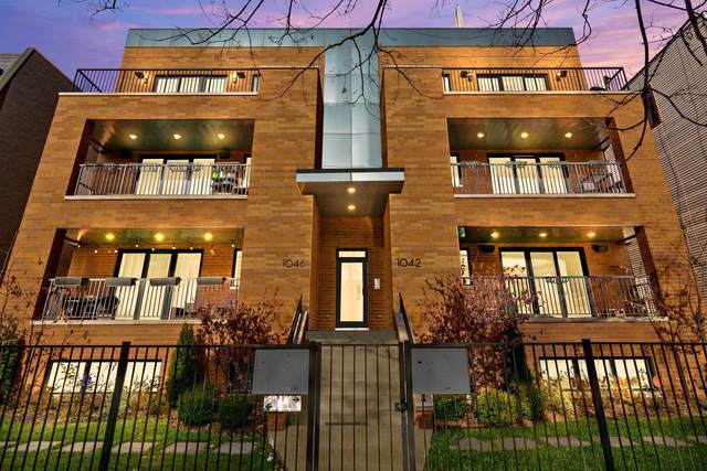 1042 W Altgeld Street #3, Chicago, IL 60614 (MLS #10585510) :: The Perotti Group | Compass Real Estate