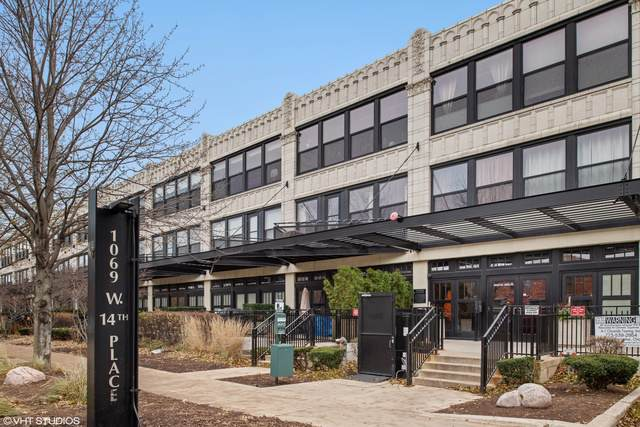1069 W 14th Place #332, Chicago, IL 60608 (MLS #10585523) :: Baz Realty Network | Keller Williams Elite