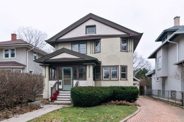 740 Woodbine Avenue, Oak Park, IL 60302 (MLS #10586358) :: Angela Walker Homes Real Estate Group
