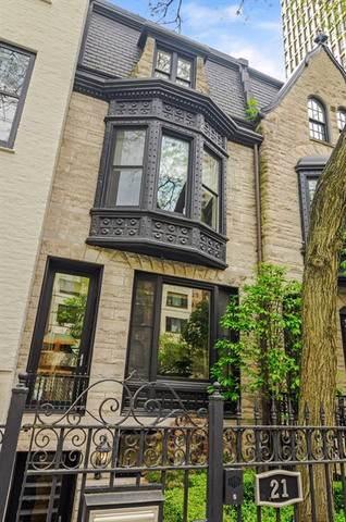 21 E Scott Street, Chicago, IL 60610 (MLS #10589697) :: Helen Oliveri Real Estate