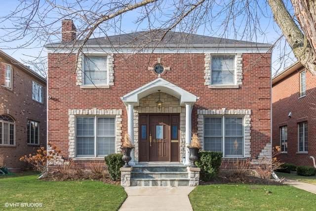 6532 N Trumbull Avenue, Lincolnwood, IL 60712 (MLS #10593025) :: Littlefield Group