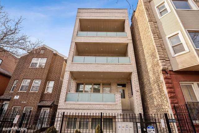 1842 N Kedzie Avenue #3, Chicago, IL 60647 (MLS #10603156) :: Property Consultants Realty