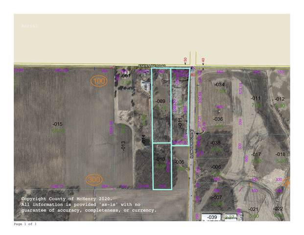 Lot 1,2,3 State Line Road, Hebron, IL 60034 (MLS #10603981) :: Jacqui Miller Homes