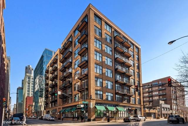 625 W Jackson Boulevard #302, Chicago, IL 60661 (MLS #10605941) :: John Lyons Real Estate