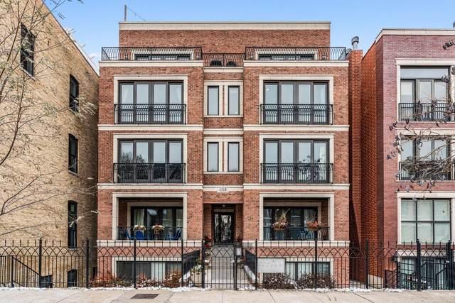 1518 W Cortez Street 3W, Chicago, IL 60642 (MLS #10606457) :: Baz Realty Network | Keller Williams Elite